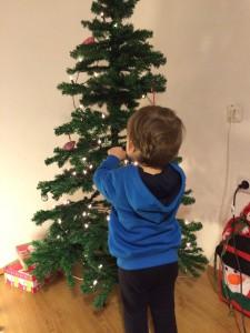 Baum schmücken am 4. Advent