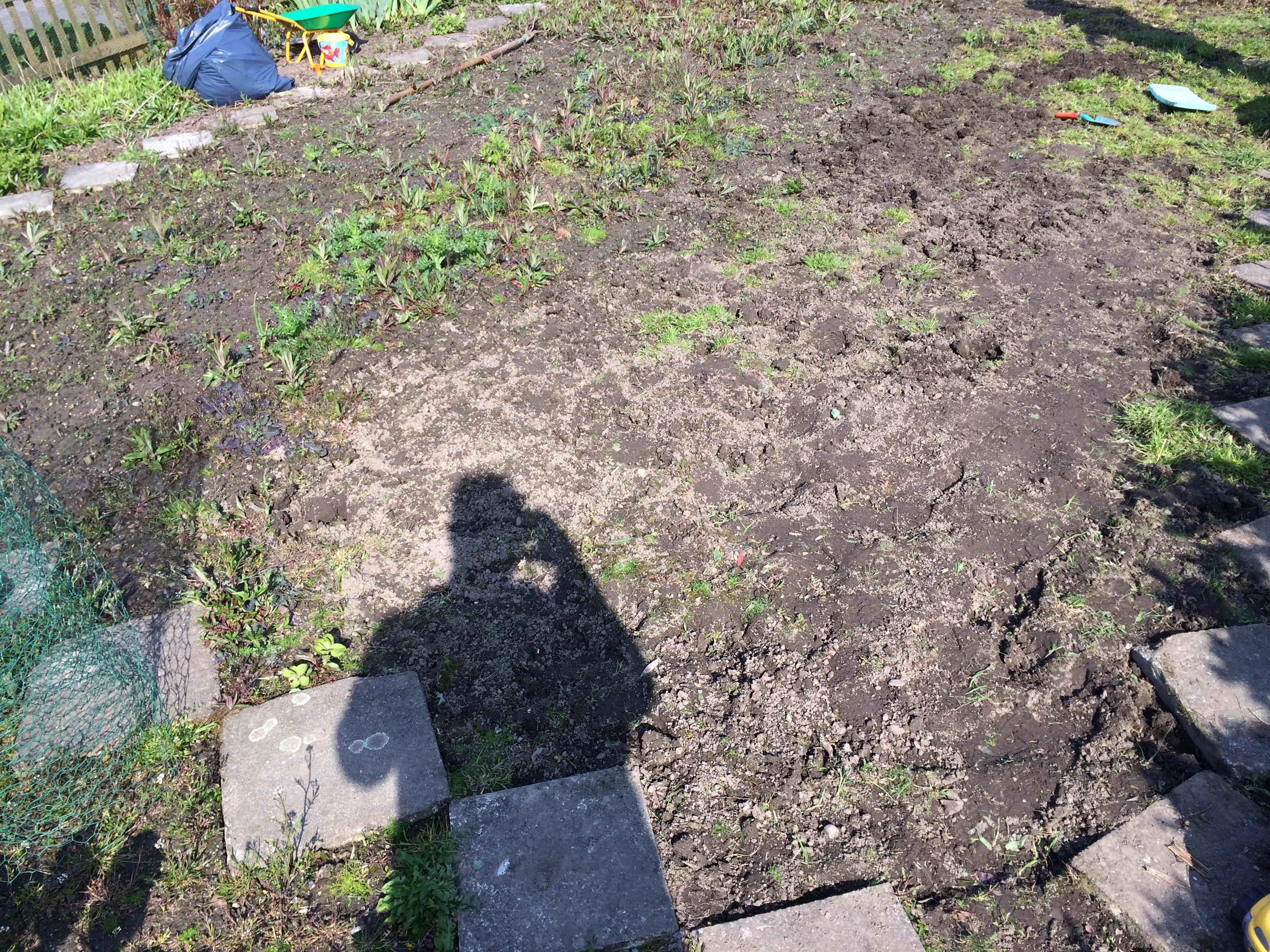 Gemeinsame Das Beet umgraben - eine Anleitung in 5 Schritten @EW_09