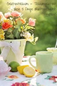 Mein #Traumgarten mit eBay Haus und Garten: diese 5 Dinge dürften nicht fehlen!