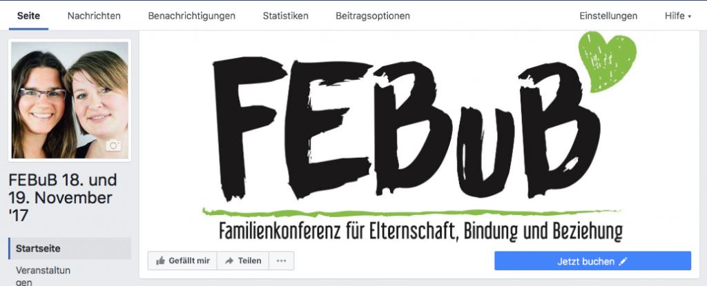 FEBuB auf Facebook