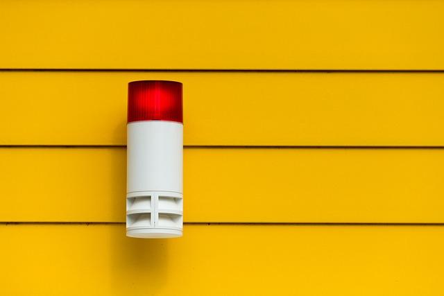 Die rote Lampe