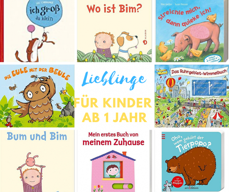 Bücher für Kinder ab 12 Monaten: unsere Lieblinge!